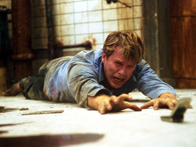 Saw, Cary Elwes | One room. One maniac dictating your every move. 'Nuff said.