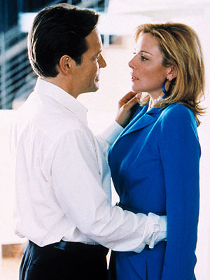 SEX AND THE CITY ''I love you too Richard, but I love me more.'' —Samantha (Kim Cattrall) to Richard (James Remar)