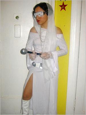 Princess Leia Lady Gaga... Princess Gaga? Stefanie Diaz, Bronx, NY Facebook users: Become an EW fan!