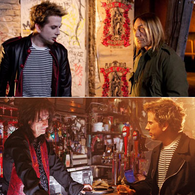Iggy Pop, Alice Cooper | Director-star Rob Stefaniuk recruited Iggy Pop (pictued, top), Alice Cooper (pictured, bottom), Henry Rollins , Moby , and Rush's Alex Lifeson to appear in his…