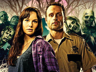 THE WALKING DEAD Zombies are invading! Your TV, at least. AMC's spooky new series debuts Halloween night and depicts the survivors of a zombie invasion…