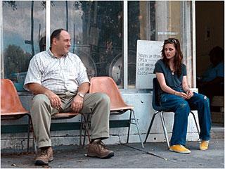 Kristen Stewart, James Gandolfini, ... | WHERE THE HEART IS James Gandolfini and Kristen Stewart bond in Welcome to the Rileys