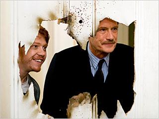 Bill Nighy, Rupert Grint, ... | THROUGH THE LOOKING WALL Rupert Grint and Bill Nighy in Wild Target