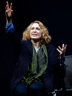 Jan Maxwell | WINGS Stage veteran Jan Maxwell stars in a stirring revival of Arthur Kopit's radio play about a woman recovering from a stroke