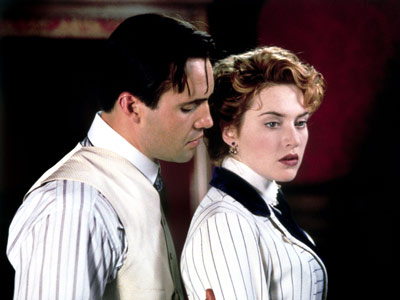 TITANIC ''I'd rather be his whore than your wife.'' —Rose (Kate Winslet) as she spits in Cal's (Billy Zane) face.
