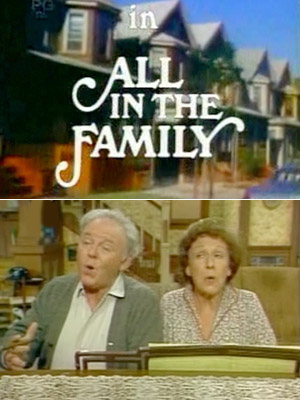 Those were the days, when the sight of Carroll O'Connor and Jean Stapleton warbling at the piano and waxing nostalgic for a more conservative time…