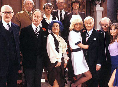'' Vicar of Dibley , Keeping up Appearances , Are You Being Served? '' — Jim