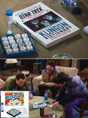 The Big Bang Theory, Jim Parsons, ... | For: Boggle warriors. Qapla' ! — Sandra Gonzalez