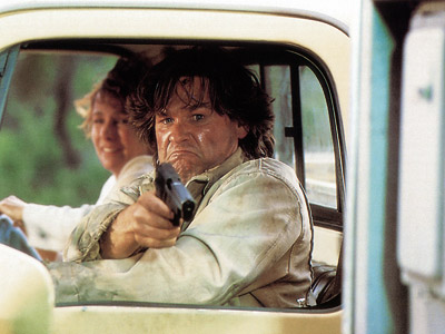 Kurt Russell, Breakdown | Breakdown (1997) On a cross-country drive, in a desolate stretch of the Southwest, a nice guy (Kurt Russell) and his wife (Kathleen Quinlan) get stranded,…