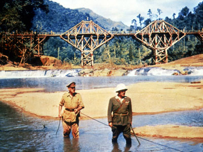 The Bridge on the River Kwai, Geoffrey Horne, ... | Like Hitchcock, director David Lean filmed plenty of great train scenes — Brief Encounter , Lawrence of Arabia , and Dr. Zhivago , to name…