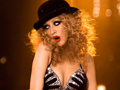 HAVEN'T SEEN THE LAST OF HER Christina Aguilera in Burlesque