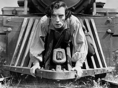 The General, Buster Keaton | The greatest train scene of all time is basically an entire movie. Buster Keaton's revered and most-remembered film set the bar so high for physical…