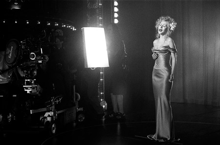 Christina Aguilera, Burlesque | Christina Aguilera soulfully performing on the set of Burlesque . ''It's a celebration of song and dance, set in the world of Burlesque — this…