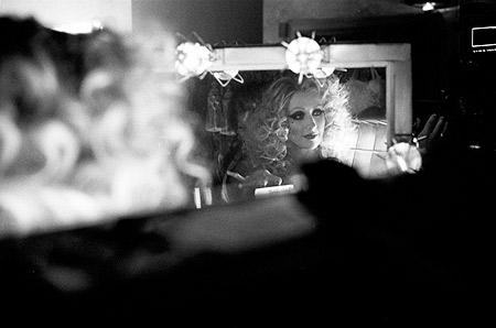 Christina Aguilera, Burlesque | Christina Aguilera For more exclusive behind-the-scenes photos and dish on Burlesque , pick up the Holiday Movie Preview issue of Entertainment Weekly More Burlesque from…