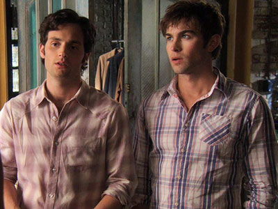 Penn Badgley, Chace Crawford, ... | The friends who dress like each other will one day express their secret mutual love for each other. ...At least we can hope.