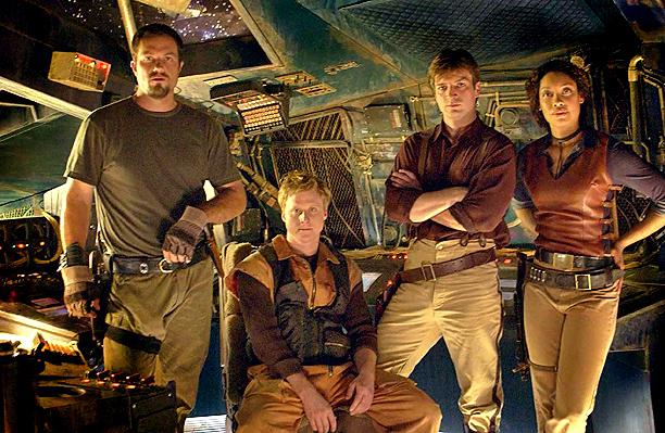 Firefly, Nathan Fillion | Joss Whedon's grand folly: a Howard Hawks Western crossed with a George Lucas space opera. Filled with vivid characters led by Nathan Fillion's hotshot captain,…