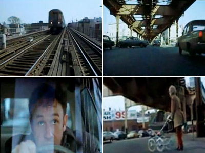 The French Connection | Chasing an elevated train from the comfort of your car can be tricky. For one thing, the train doesn't have to obey traffic signals. Nor…