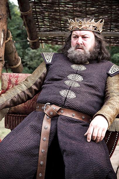 Robert Baratheon (Mark Addy)