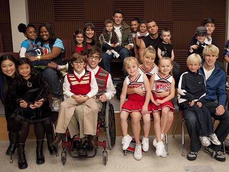 Glee | New Directions takes a turn for the super-adorable when everyone gets a diminutive doppelgänger.