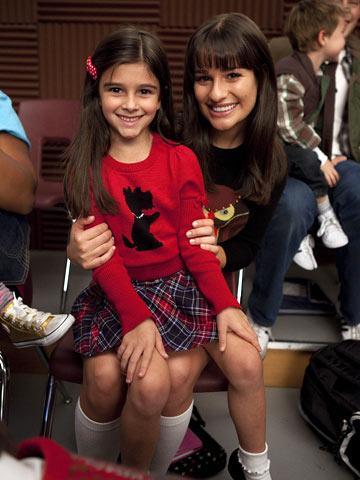 Glee | Even in munchkin form, Rachel Berry seems destined for stardom.