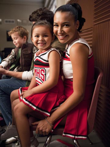 Glee | Who knew you could get all that Santana attitude in such a tiny person?