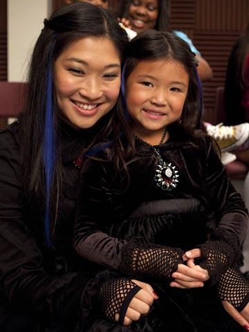 Glee | Yep, tiny Tina makes baby goth cute.