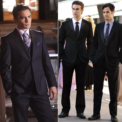 Gossip Girl, Chace Crawford, ... | Suits fit the boys almost as well as their lascivious lifestyles do.