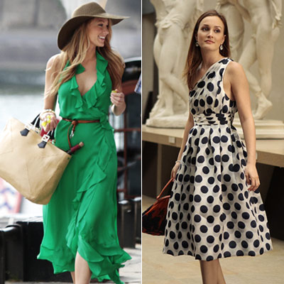 Gossip Girl, Blake Lively, ... | Whilst in Paris nursing the wounds left by their disastrous love lives, Blair and Serena killed their time by café and bed hopping, respectively. But…