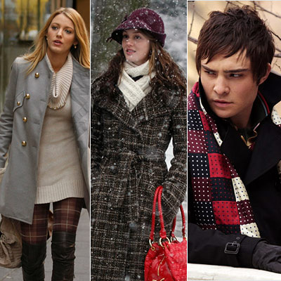 Gossip Girl, Ed Westwick, ... | Cold hearts keep warm in style.