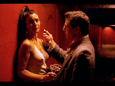 Monica Bellucci, Irreversible   It just...doesn't...stop. The rape scene in Gaspar Noe's reverse-chronological-order film that stirred so much controversy is so hard to watch because the camera never cuts…