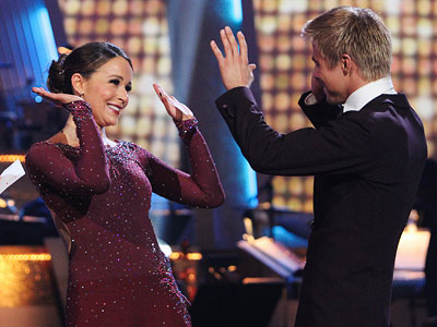 Dancing With the Stars, Derek Hough, ... | Dancing With the Stars performance recap: Divine Secret of the Cha Cha Sisterhood Derek said he keeps forgetting Jennifer is 50. But we don't, because…