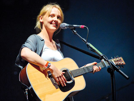 ''BLUES RUN THE GAME,'' Laura Marling The singer and her simple acoustic guitar wonderfully cover Jackson C. Frank's tune, with an assist from producer Jack…