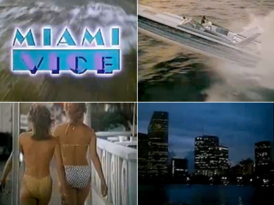 A cop show set in Miami? With cop heroes who favor pastel pants and Belgian loafers? Starring Don Johnson? Credit Jan Hammer's synthy score and…