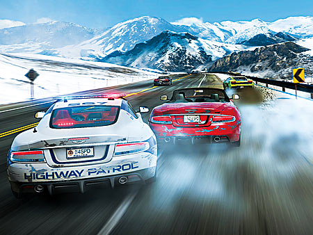 NEED FOR SPEED: HOT PURSUIT Cruise through Seacrest County with up to eight of your friends in the latest edition of the speed-demon videogame franchise.…