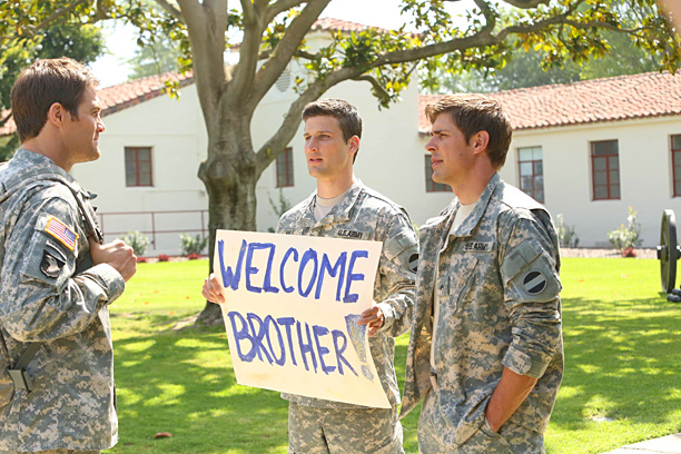 Kevin Biegel's Enlisted starred Geoff Stults, Chris Lowell, and Parker Young as three brothers serving their country in a Rear Detachment Unit in Florida. In…