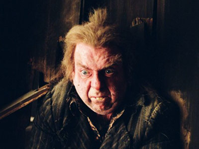 Harry Potter   In the book: Peter Pettigrew's demise was wonderfully brilliant: After demonstrating his first bit of goodness and integrity by remembering his life debt to Harry…