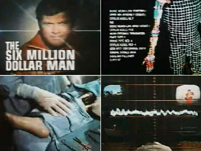 The Six Million Dollar Man, Lee Majors | This clip holds up pretty darn well — spruce up the effects, add modern graphics (and maybe have the title adjusted for inflation), and it…