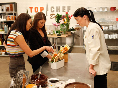 Top Chef Just Desserts recap: A Chocolate Traves-tea Danielle, being a lover of incorporating all things natural (see couture challenge heinous vegetable dress), doesn't do…