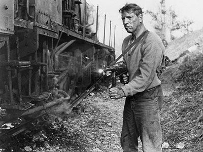 Burt Lancaster, The Train | From the no-nonsense title to Burt Lancaster's terse lead performance, The Train is a propulsively pure action movie. In the last days of the occupation…