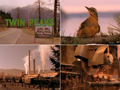 The yearning dreaminess of Angelo Badalamenti's music + the pyrotechnic violence of an industrial-grade saw being sharpened = haunting magic. Yep, that David Lynch is…