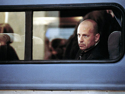 Bruce Willis, Unbreakable | The opening credits sequence of M. Night Shyamalan's twisted superhero story takes a good, long look at David Dunn, the sad-sack everyman played by Bruce…