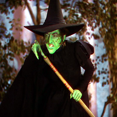 The Wizard of Oz, Margaret Hamilton | ''I'll get you my pretty! And your little dog too!'' Have scarier words ever been spoken? Plus, flying monkeys! — EE