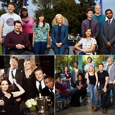 4. NBC Thursday sitcoms: Parks and Recreation , Community , and 30 Rock Parks and Recreation 's ensemble united to form a warmly wacky bond…