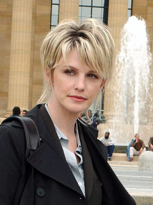 Cold Case, Kathryn Morris | Det. Lilly Rush (Kathryn Morris), Cold Case Can I just go off for a minute on this lady's hair? Great. It was constantly pinned up…