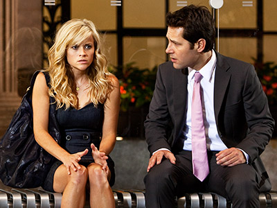 ME AND YOU, AND YOU AND ME Reese Witherspoon and Paul Rudd in How Do You Know