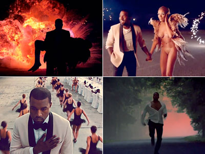 Kanye West | 4. Debuts Runaway , a surreal 35-minute short film, on MTV. Fans and critics hail West?s ambitious new tunes. (Oct. 23)