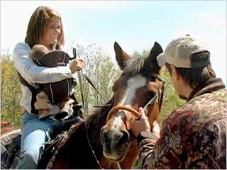 Kayla 16 Pregnant Horse