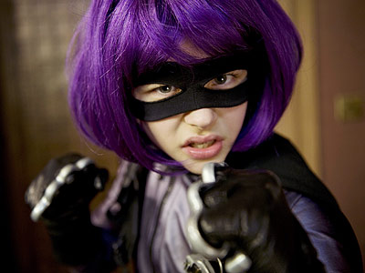 Chloe Grace Moretz, Kick-Ass | Chloë Grace Moretz Chloë Grace Moretz, 13, shocked audiences with her performance as Kick-As s' foulmouthed mini-assassin Hit Girl, and then sank her teeth into…