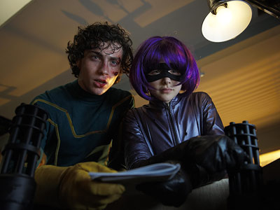 Kick-Ass | An ordinary kid named Dave (Aaron Johnson) learns that being a superhero isn't all it's cracked up to be. The performances of Chloë Grace Moretz…