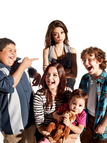 Modern Family | Rico Rodriguez, Ariel Winter, Sarah Hyland, Ella/Jaden Hiller, and Nolan Gould Every once in a while, TV gives us youngsters who deftly avoid cliché and…